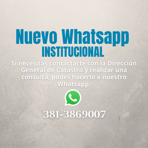 WhatsApp Catastro